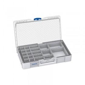 Systainer³ Organizer L 89 avec 20 boîtes gris clair