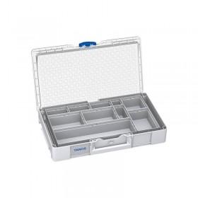 Systainer³ Organizer L 89 avec 10 boîtes gris clair