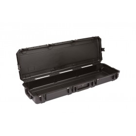 Valise étanche en polypropylène de couleur noir avec verrouillage TSA