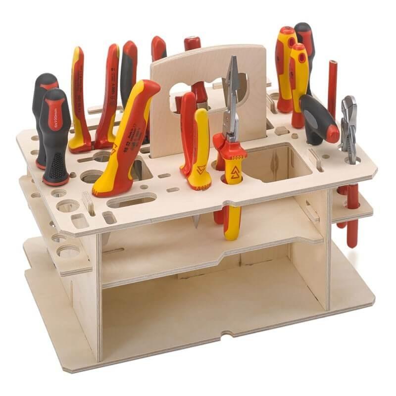 Insert en bois pour outils manuels