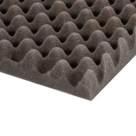 Mousse Alvéolée grise 50 mm