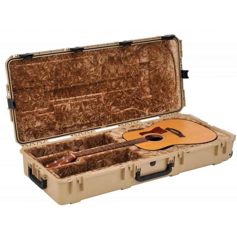 SKB iSeries Waterproof Acoustic Guitar Case (tan)