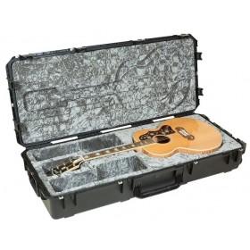 SKB iSeries Waterproof Jumbo Acoustic Guitar Case