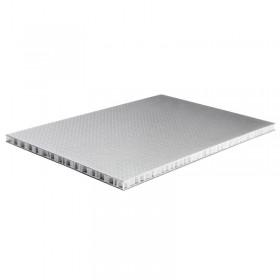 Matériau alvéolaire PP High-Tech noir/argent 9,5 mm