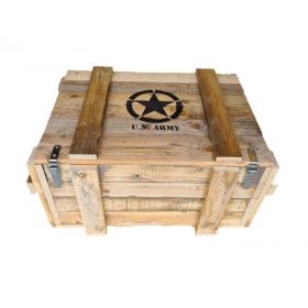 Caisse de munitions en bois...