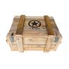 Caisse de munitions en bois 500x400x400 mm