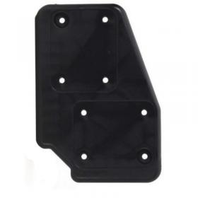 Platine de Renfort polyamide noir coté droit