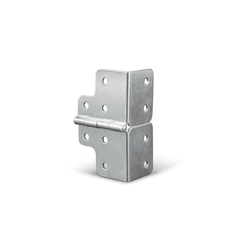 Charnière en acier galvanisé, largeur 48 mm