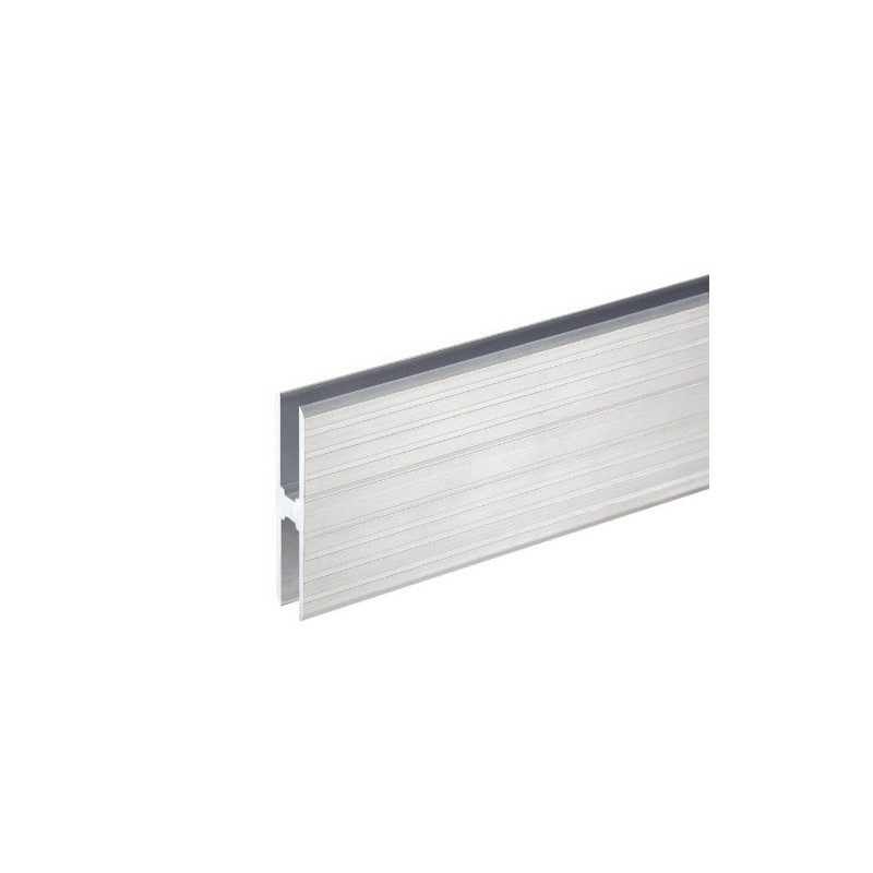 Profilé aluminium en H Heavy Duty pour Jonction de Panneaux  matériau 10 mm