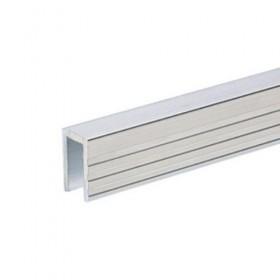 Profilé aluminium de Recouvrement pour Parois Séparatrices pour matériau 7 mm