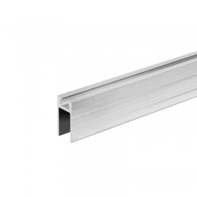 Aluminium sliding profile female