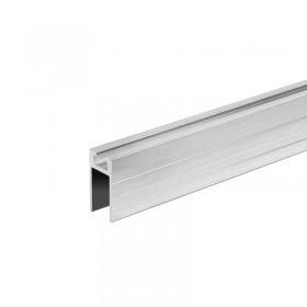 Aluminium sliding profile female